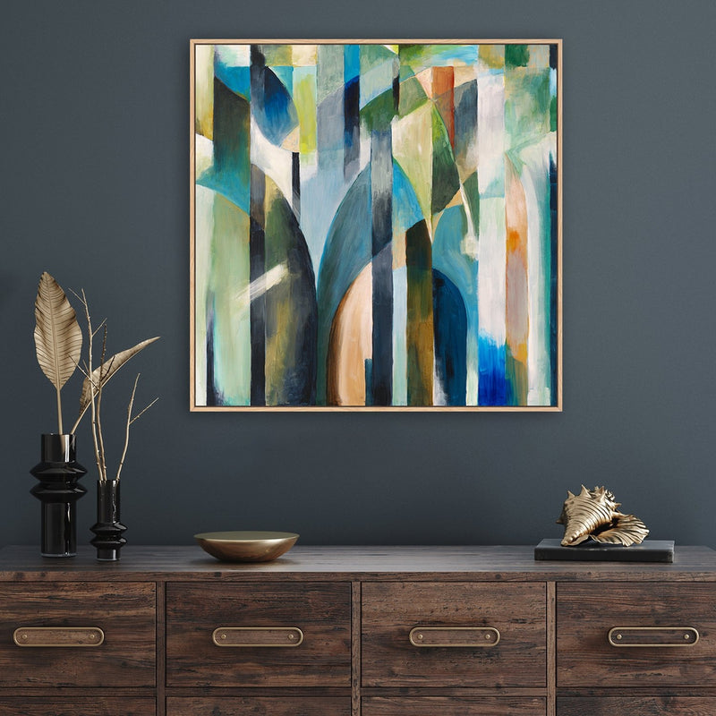 Abstract Colourful Forest