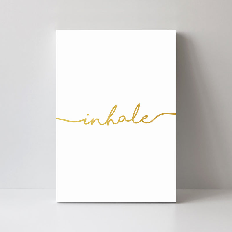 Inhale, Golden