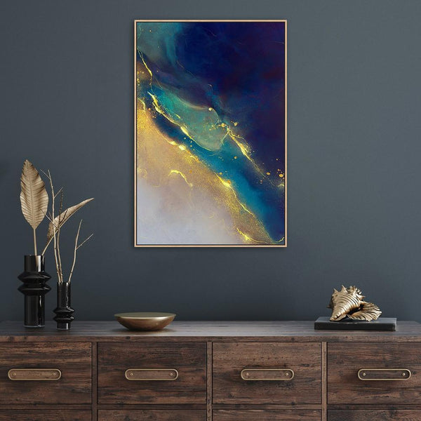 Wall-Art-Poster-Canvas-Framed-A Mystical Night, Style C-Gioia Wall Art