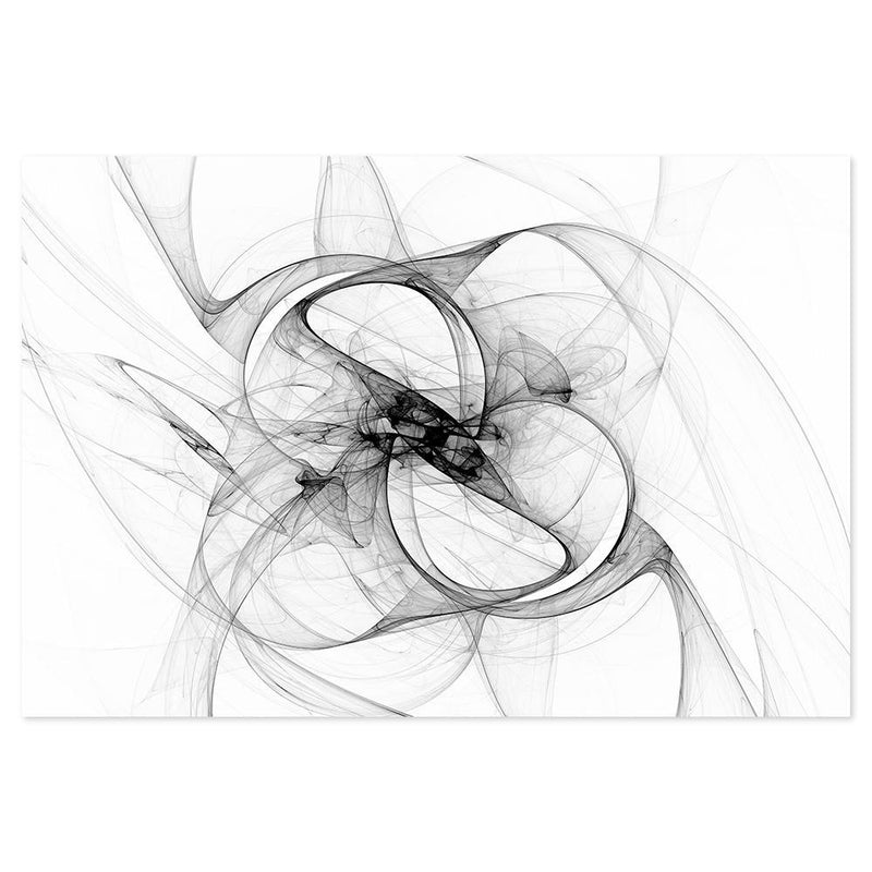 Wall-Art-Poster-Canvas-Framed-Aerial Silk, Black And White Art, Style D-Gioia Wall Art