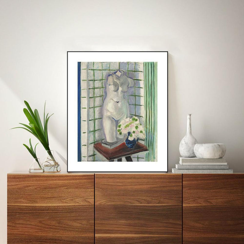 Wall-Art-Poster-Canvas-Framed-Antique and Carnations, By Henri Matisse-Gioia Wall Art
