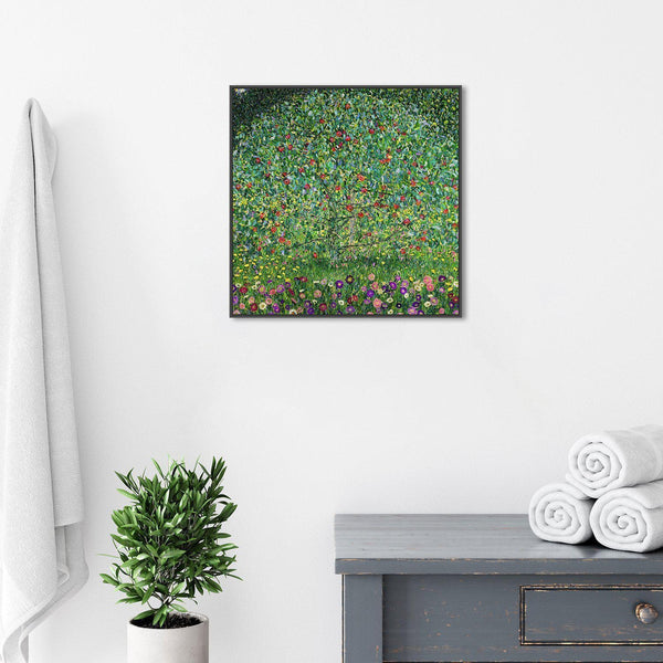 Wall-Art-Poster-Canvas-Framed-Apple Tree, By Gustav Klimt-Gioia Wall Art
