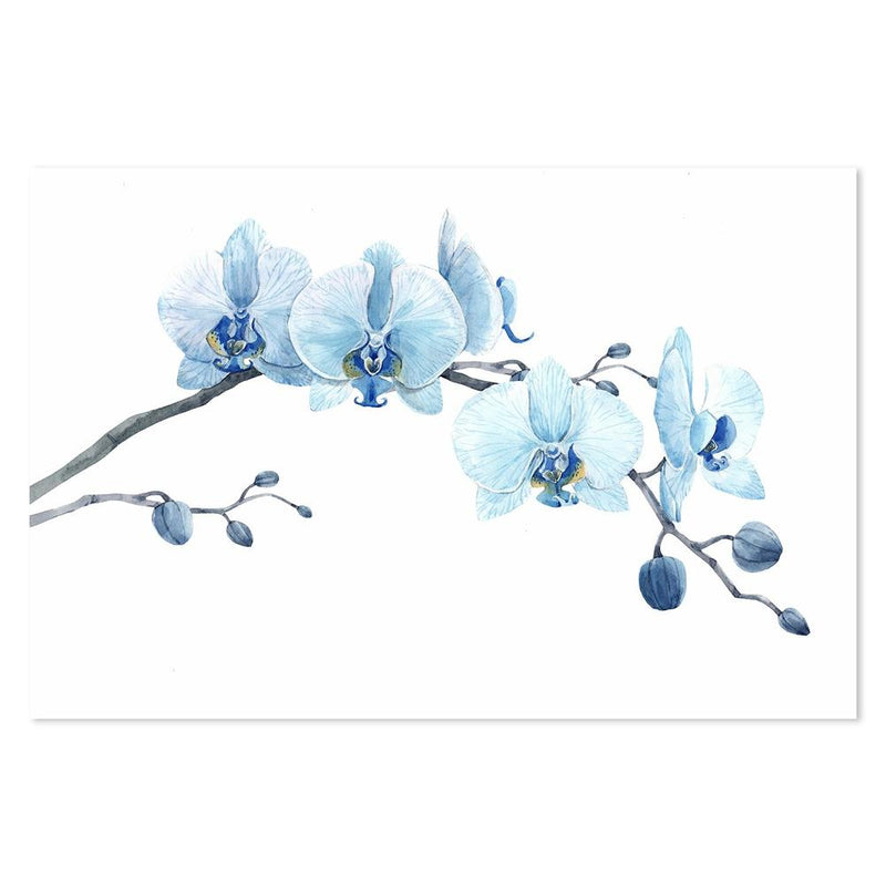 Wall-Art-Poster-Canvas-Framed-Blue Freesia-Gioia Wall Art