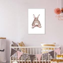 Wall-Art-Poster-Canvas-Framed-Bunny Tail-Gioia Wall Art