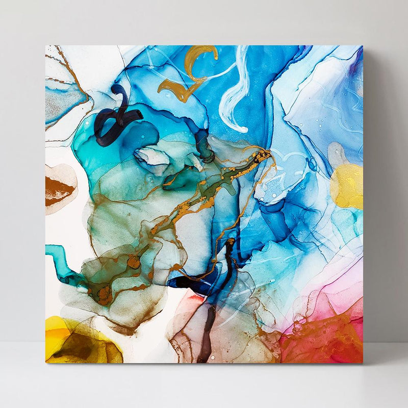 Wall-Art-Poster-Canvas-Framed-Colour Splash, Style A-Gioia Wall Art