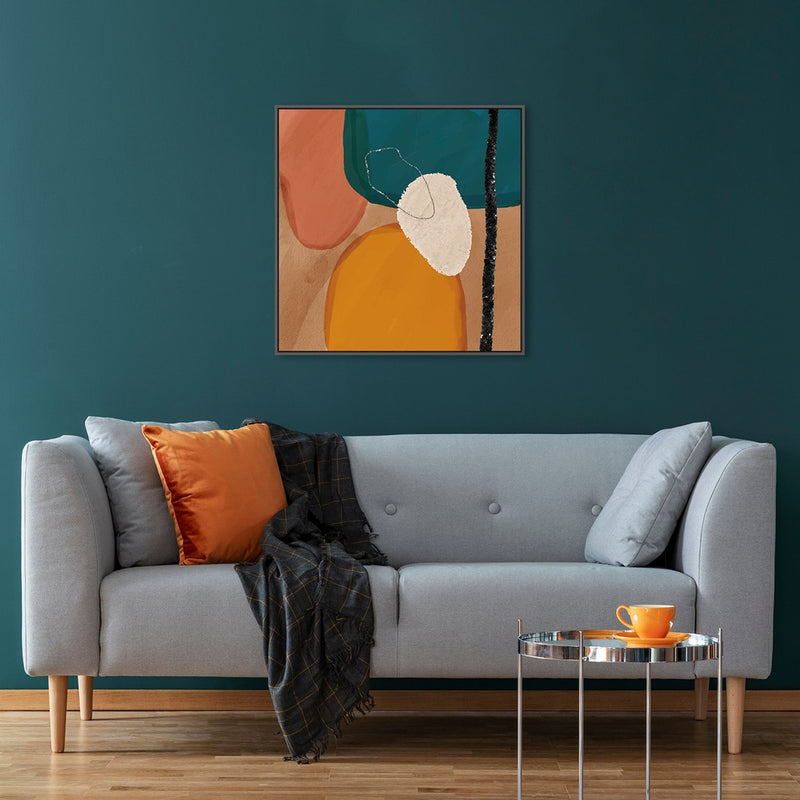 Wall-Art-Poster-Canvas-Framed-Connections, Abstract Art-Gioia Wall Art