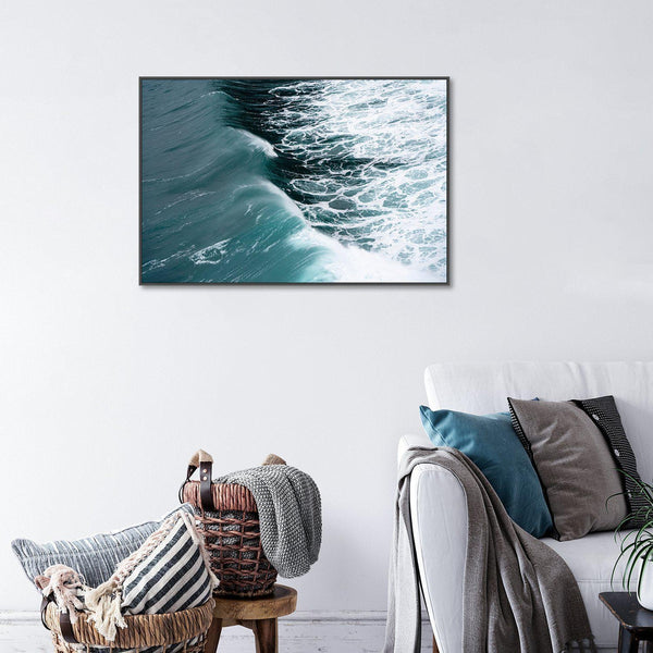 Wall-Art-Poster-Canvas-Framed-Dancing waves-Gioia Wall Art