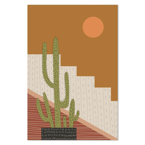 Wall-Art-Poster-Canvas-Framed-Desert Lifestyle Style A-Gioia Wall Art