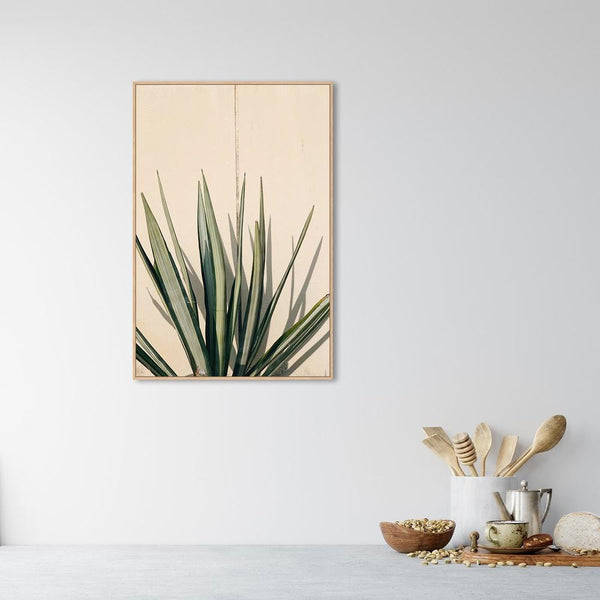 Wall-Art-Poster-Canvas-Framed-Desert Plant-Gioia Wall Art