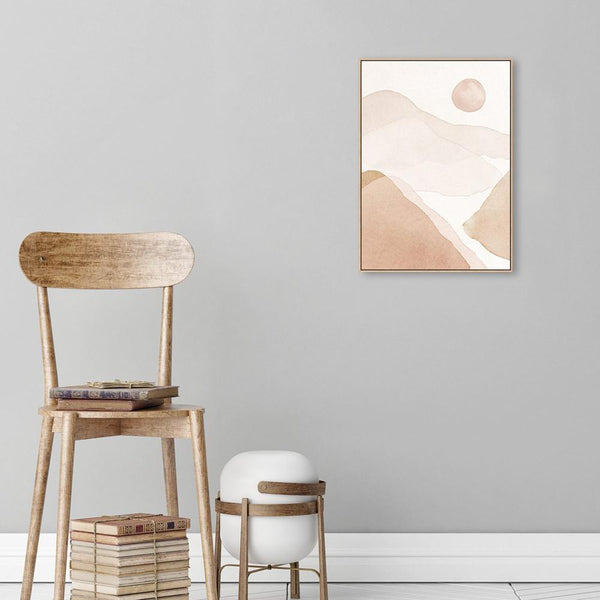 Wall-Art-Poster-Canvas-Framed-Desert, Style A-Gioia Wall Art