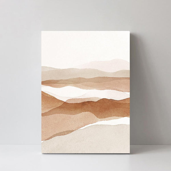 Wall-Art-Poster-Canvas-Framed-Desert, Style B-Gioia Wall Art