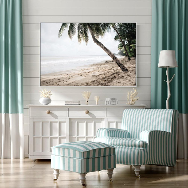 Wall-Art-Poster-Canvas-Framed-Deserted Island-Gioia Wall Art