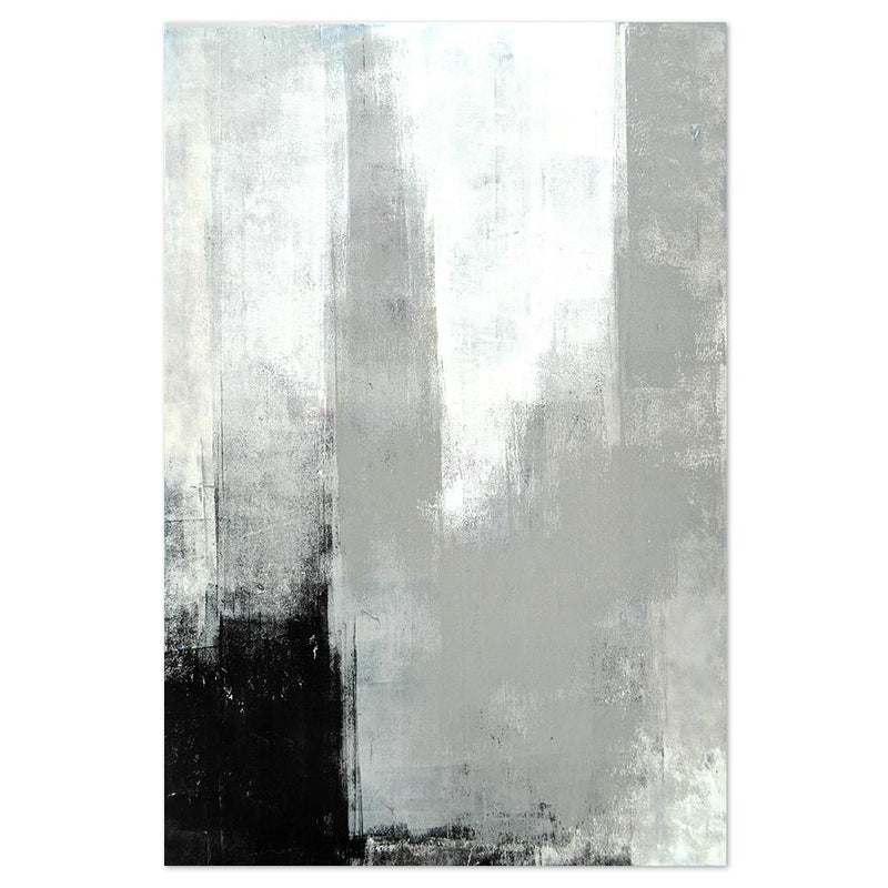 Wall-Art-Poster-Canvas-Framed-Distressed Monochrome-Gioia Wall Art