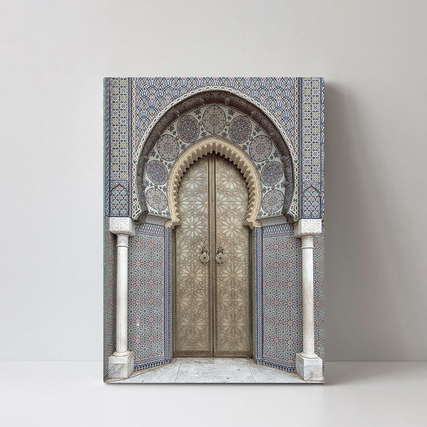 Wall-Art-Poster-Canvas-Framed-Door To Morocco-Gioia Wall Art