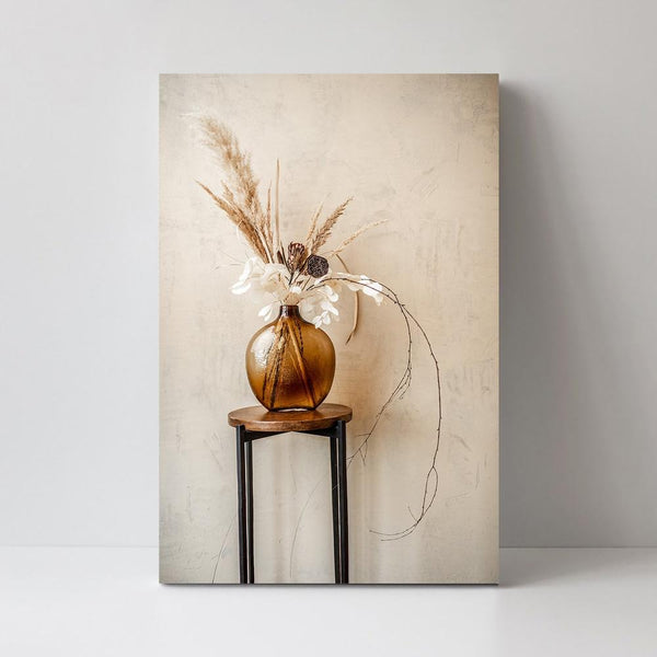 Wall-Art-Poster-Canvas-Framed-Dried Blooms-Gioia Wall Art