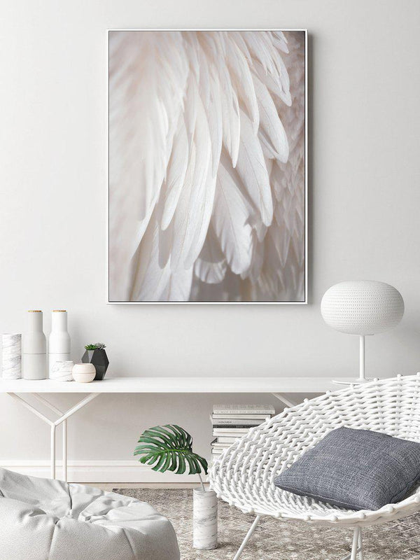 Wall-Art-Poster-Canvas-Framed-Feather-Gioia Wall Art