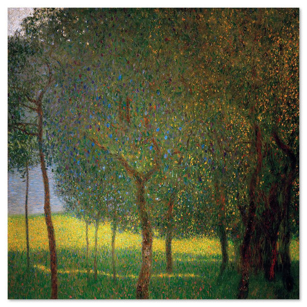 Wall-Art-Poster-Canvas-Framed-Fruit Trees, by Gustav Klimt-Gioia Wall Art