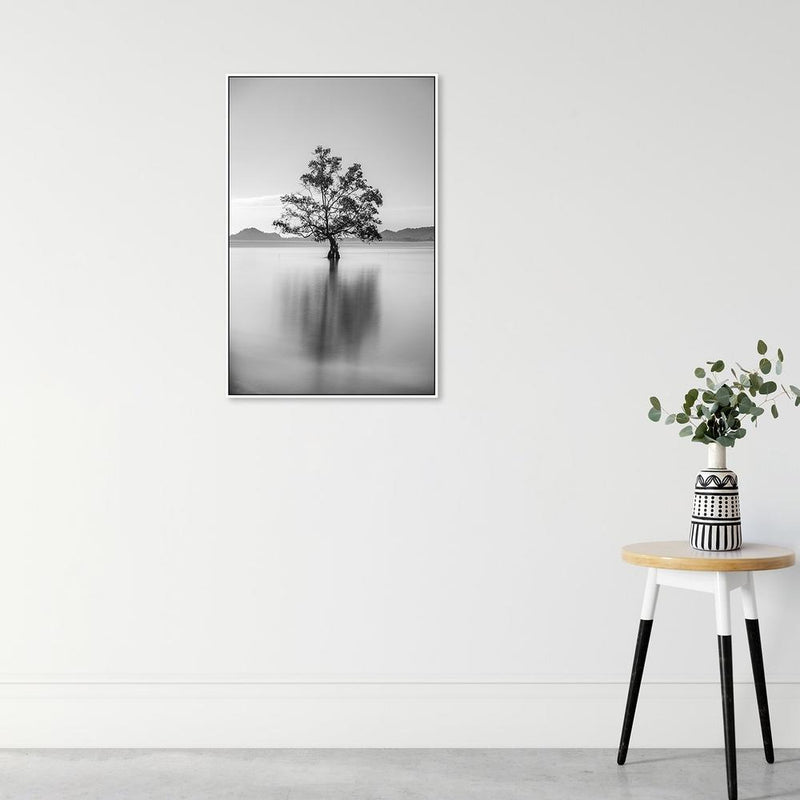 Wall-Art-Poster-Canvas-Framed-Lonely Tree-Gioia Wall Art