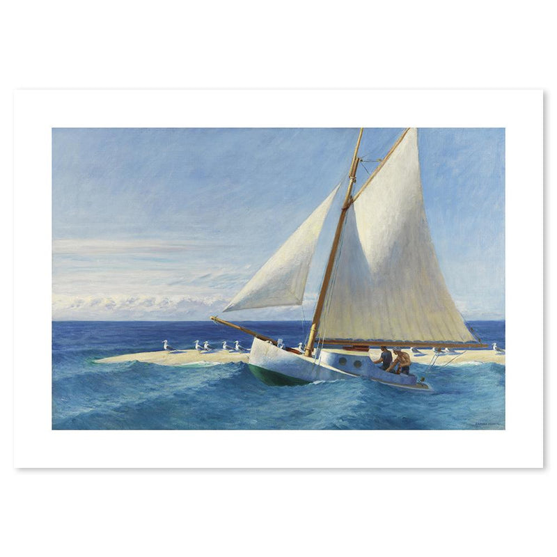 Wall-Art-Poster-Canvas-Framed-Martha McKeen of Wellfleet, By Edward Hopper-Gioia Wall Art