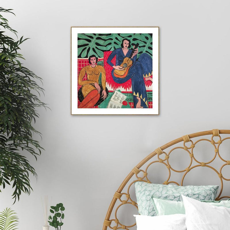 Wall-Art-Poster-Canvas-Framed-Music, by Henri Matisse-Gioia Wall Art