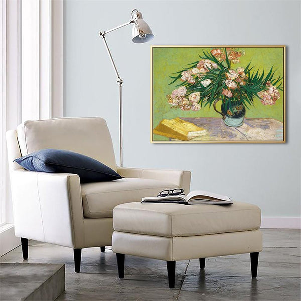 Wall-Art-Poster-Canvas-Framed-Oleanders, Van Gogh-Gioia Wall Art