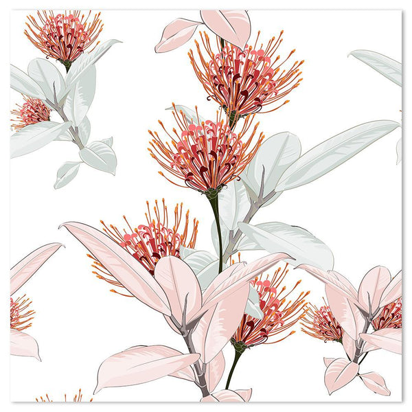 Wall-Art-Poster-Canvas-Framed-Protea and Ficus-Gioia Wall Art