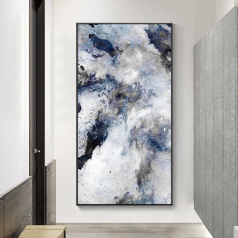 Wall-Art-Poster-Canvas-Framed-Rock Spirit, Abstract Art-Gioia Wall Art