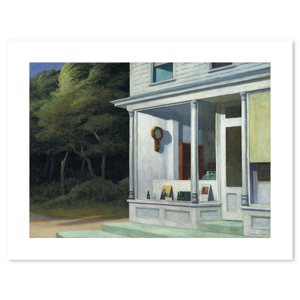 Wall-Art-Poster-Canvas-Framed-Seven AM, By Edward Hopper-Gioia Wall Art