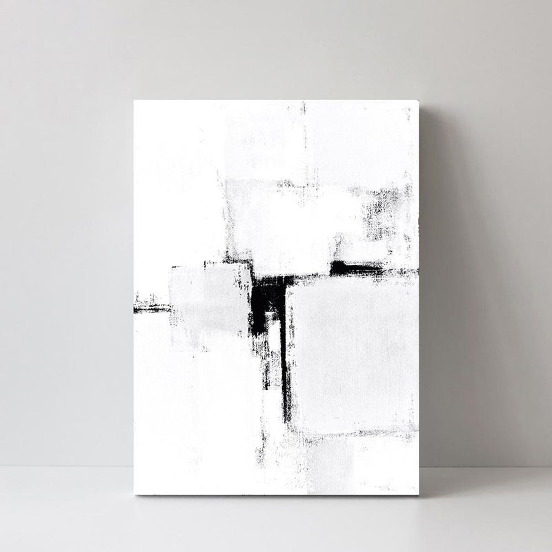 Wall-Art-Poster-Canvas-Framed-Simplicity, abstract painting-Gioia Wall Art