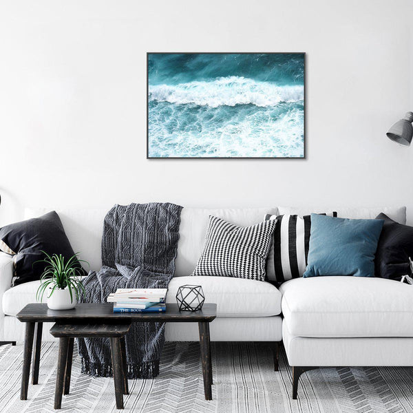 Wall-Art-Poster-Canvas-Framed-Singing waves-Gioia Wall Art