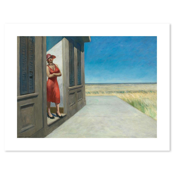 Wall-Art-Poster-Canvas-Framed-South Carolina Morning, By Edward Hopper-Gioia Wall Art