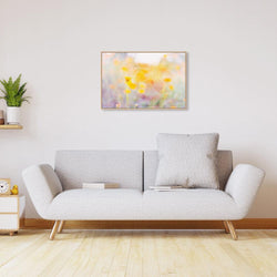 Wall-Art-Poster-Canvas-Framed-Spring Sonata, Watercolour Painting Style, Style B-Gioia Wall Art