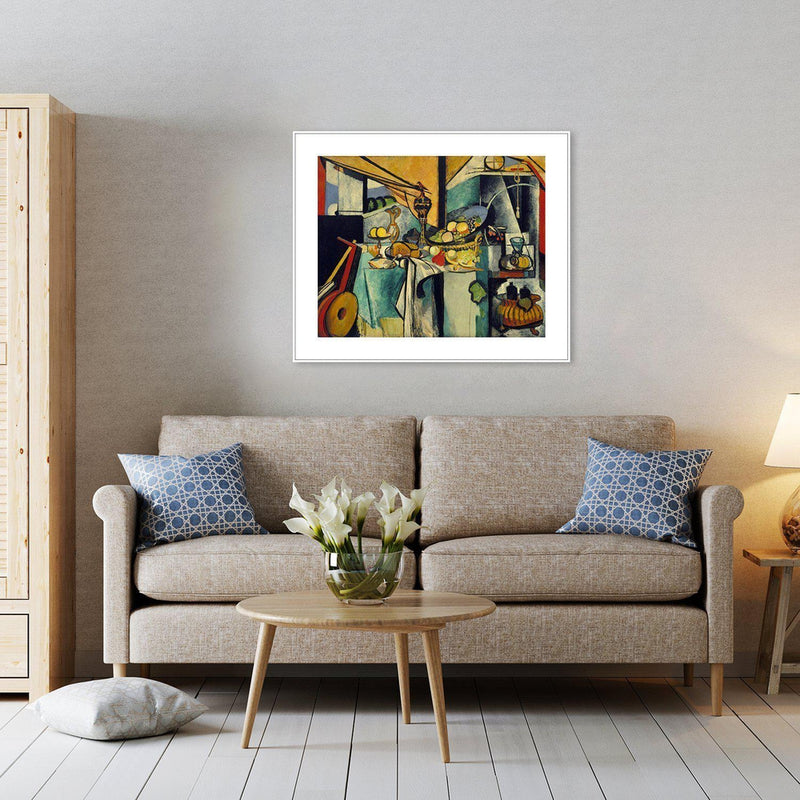 Wall-Art-Poster-Canvas-Framed-Still Life after Jan Davidsz. de Heem's La Desserte, By Henri Matisse-Gioia Wall Art