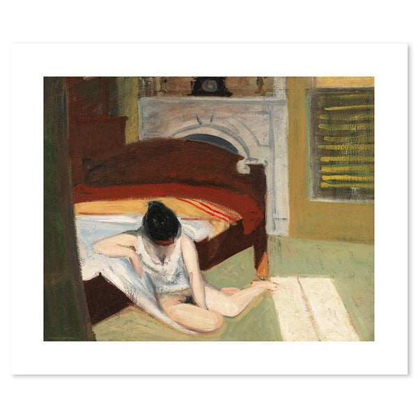 Wall-Art-Poster-Canvas-Framed-Summer Interior, By Edward Hopper-Gioia Wall Art