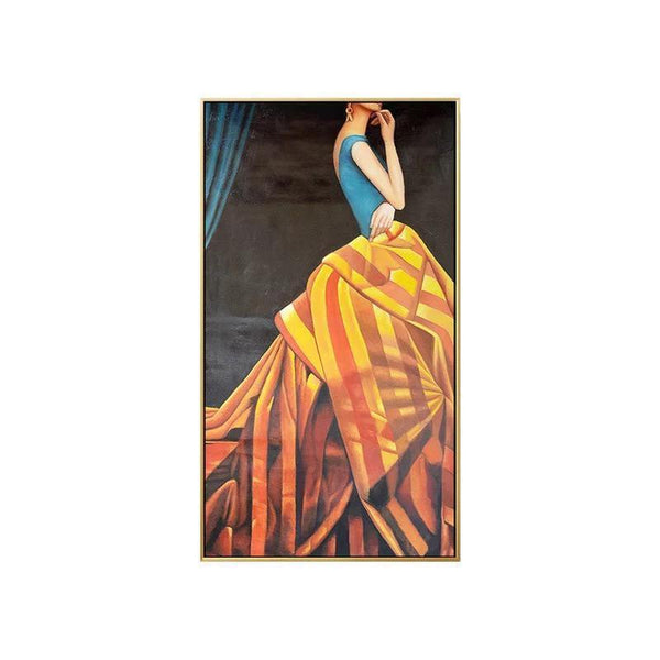 Wall-Art-Poster-Canvas-Framed-The Ball Party Dress-Gioia Wall Art