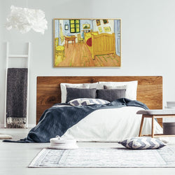 Wall-Art-Poster-Canvas-Framed-The Bedroom, Van Gogh-Gioia Wall Art