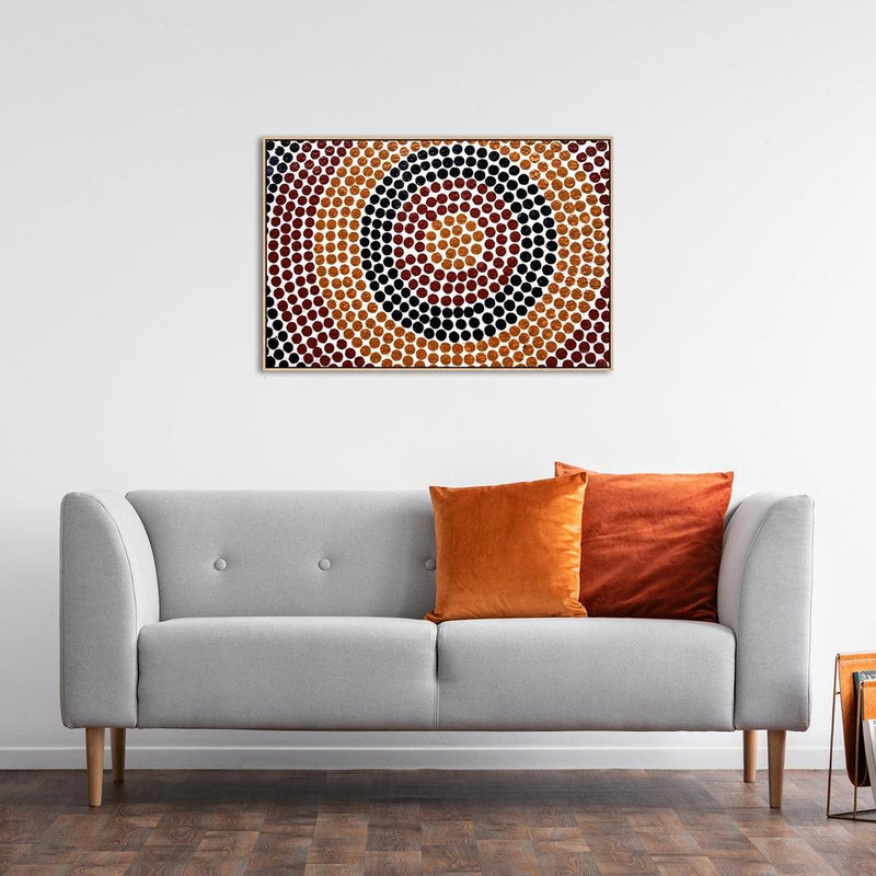 Wall-Art-Poster-Canvas-Framed-The Centre-Gioia Wall Art