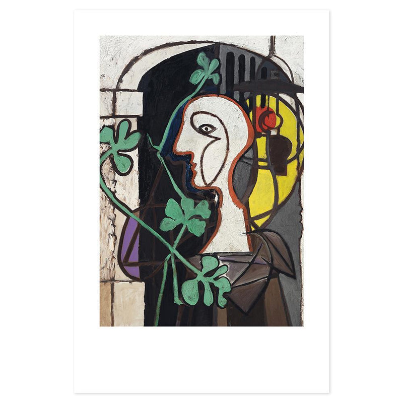 Wall-Art-Poster-Canvas-Framed-The Lamp, by Pablo Picasso-Gioia Wall Art