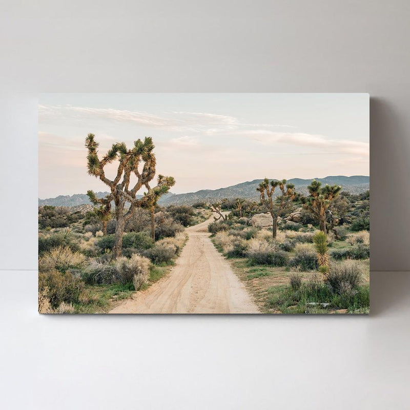Wall-Art-Poster-Canvas-Framed-The Middle of Nowhere-Gioia Wall Art