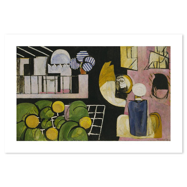Wall-Art-Poster-Canvas-Framed-The Moroccans, By Henri Matisse-Gioia Wall Art