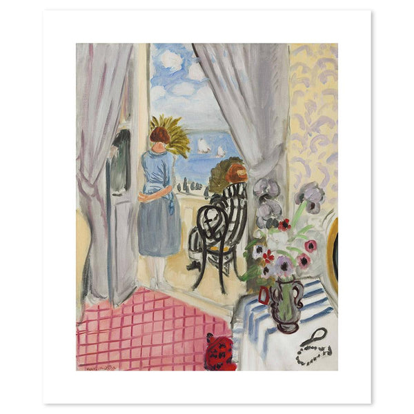 Wall-Art-Poster-Canvas-Framed-The Regattas of Nice, By Henri Matisse-Gioia Wall Art