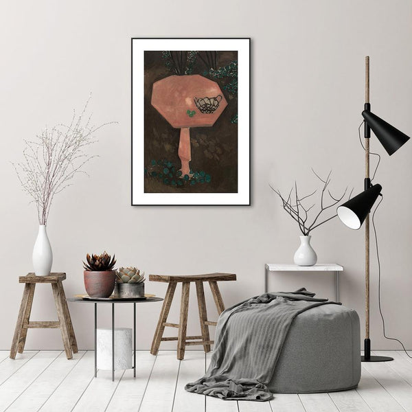 Wall-Art-Poster-Canvas-Framed-The Rose Marble Table, By Henri Matisse-Gioia Wall Art