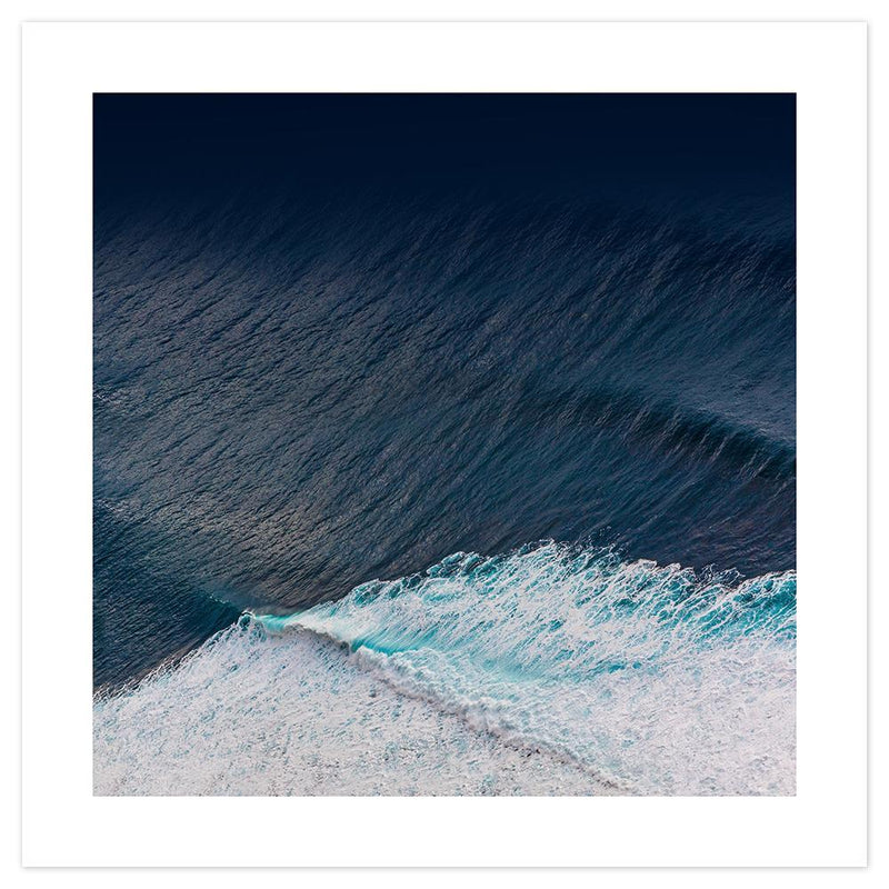 Wall-Art-Poster-Canvas-Framed-The shades of ocean blue-Gioia Wall Art