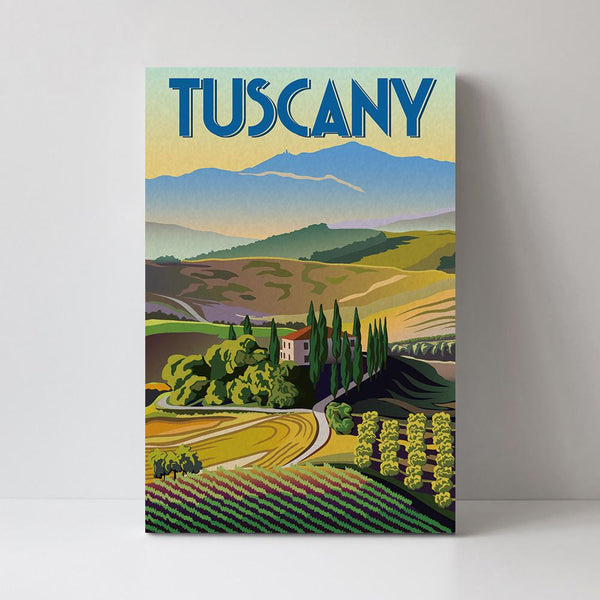 Wall-Art-Poster-Canvas-Framed-Tuscany-Gioia Wall Art