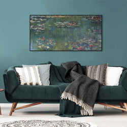 Wall-Art-Poster-Canvas-Framed-Water Lilies, Monet-Gioia Wall Art