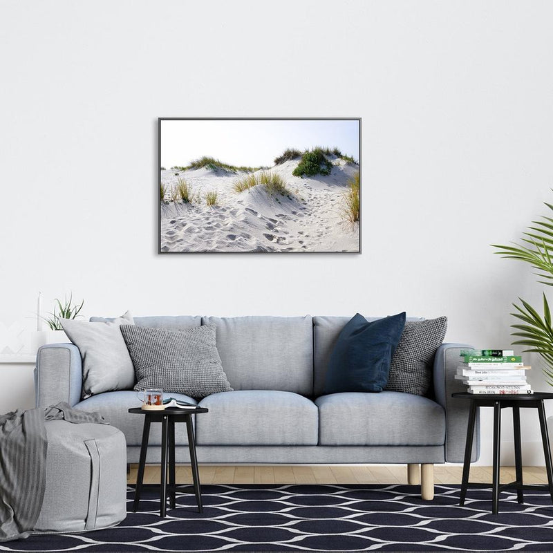 Wall-Art-Poster-Canvas-Framed-White Sand Dune-Gioia Wall Art