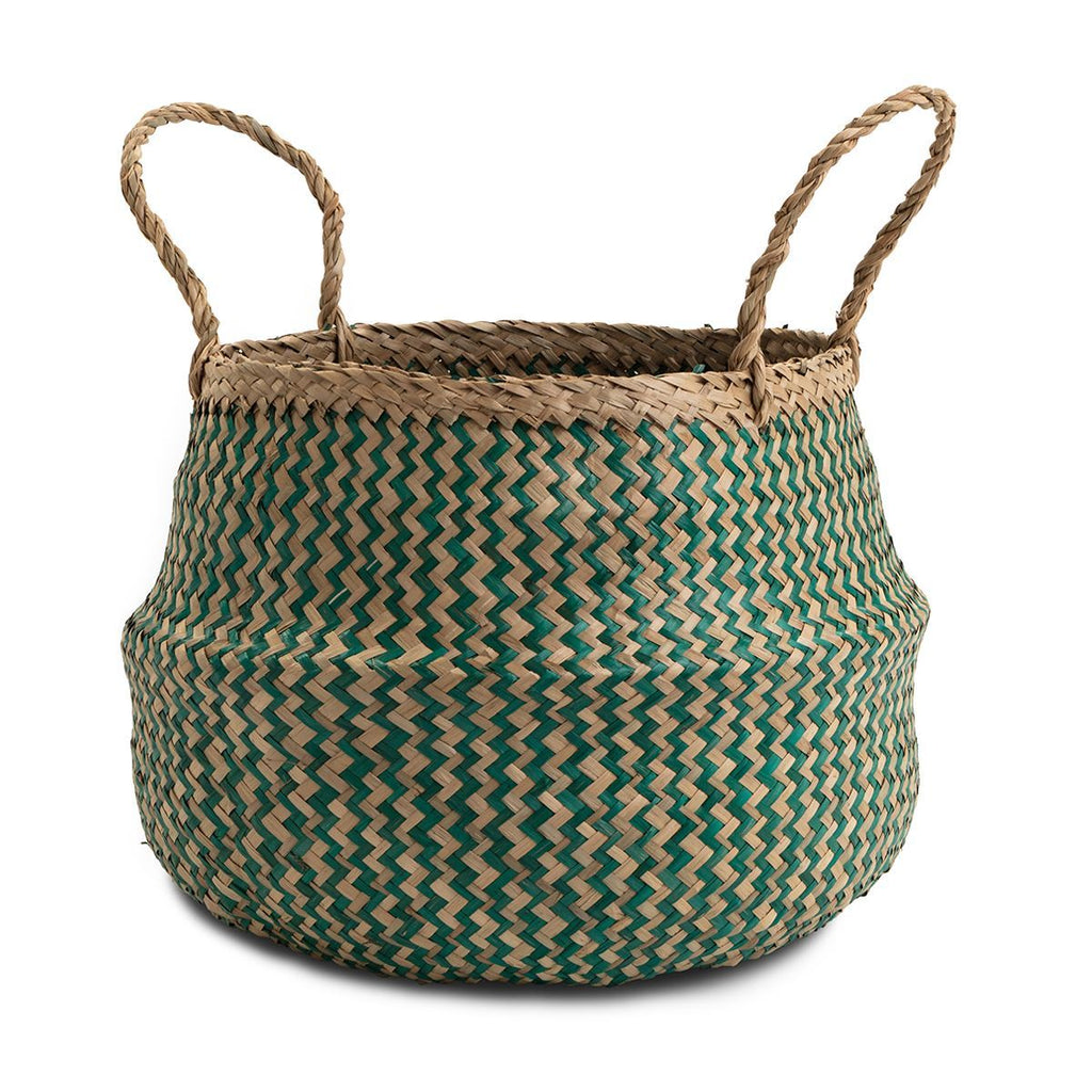 Seagrass storage basket medium