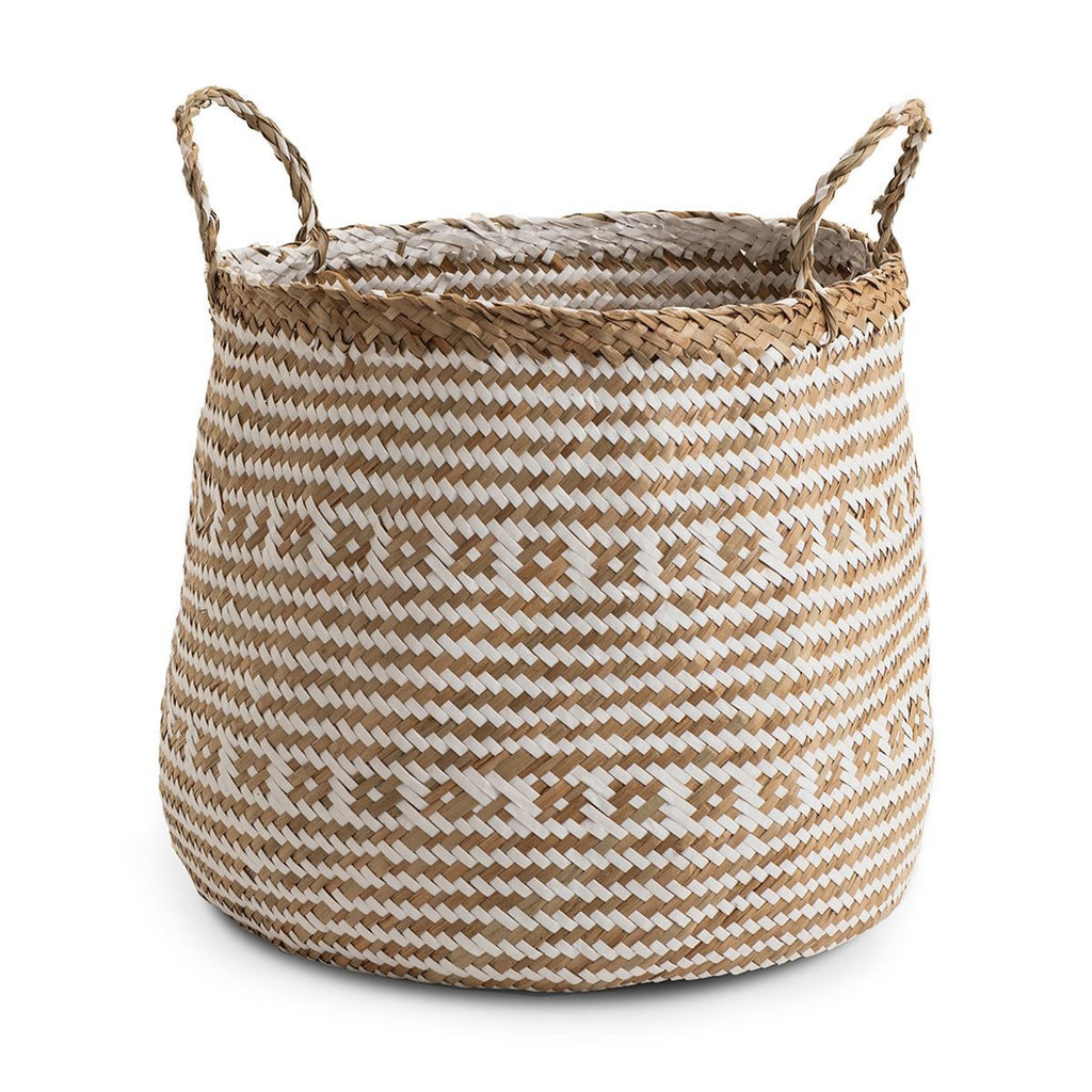 Seagrass Barrell basket Aztec - Small & Large