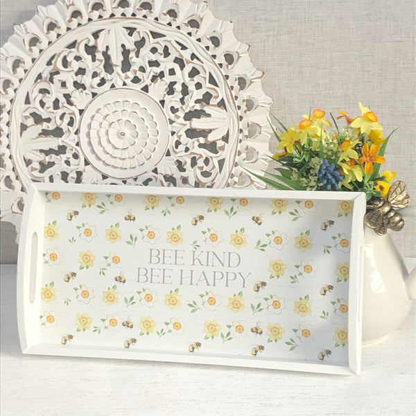 Bee Kind Bee Happy Tray