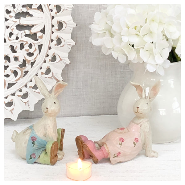 Ralphie & Rosie Rabbit -set of 2